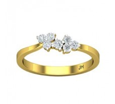 Natural Diamond Ring 0.22 CT / 2.06 gm Gold