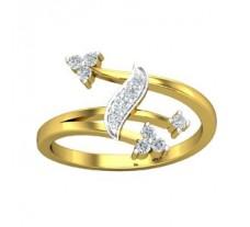 Natural Diamond Ring 0.18 CT / 2.41 gm Gold