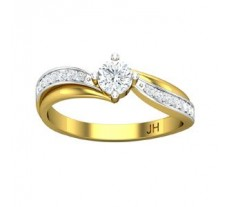 Diamond Designer Ring 0.36 CT / 2.72 gm Gold
