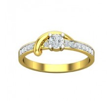 Natural Diamond Designer Ring 0.35 CT / 2.43 gm Gold