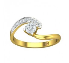 Diamond Designer Ring 0.37 CT / 2.33 gm Gold