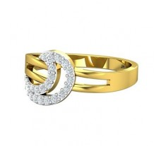 Natural Diamond Ring 0.23 CT / 2.54 gm Gold