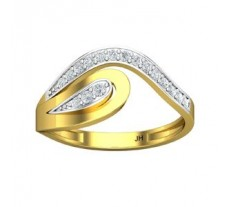 Natural Diamond Designer Ring 0.19 CT / 2.25 gm Gold
