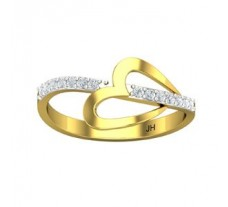 Natural Diamond Ring 0.14 CT / 1.57 gm Gold
