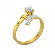 Natural Diamond Designer Ring 0.36 CT / 2.43 gm Gold