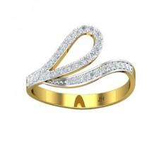 Natural Diamond Designer Ring 0.26 CT / 2.69 gm Gold