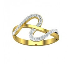 Natural Diamond Designer Ring 0.22 CT / 2.109 gm Gold