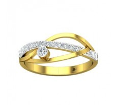 Natural Diamond Designer Ring 0.20 CT / 1.80 gm Gold