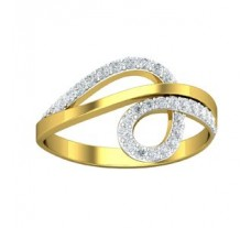 Natural Diamond Designer Ring 0.31 CT / 2.84 gm Gold