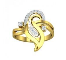 Natural Diamond Designer Ring 0.19 CT / 3.91 gm Gold