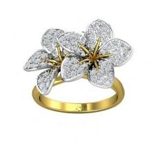 Natural Diamond Ring 0.54 CT / 4.89 gm Gold