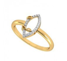 Natural Diamond Ring 0.06 CT / 2.00 gm Gold