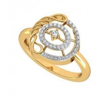Natural Diamond Ring 0.15 CT / 3.50 gm Gold