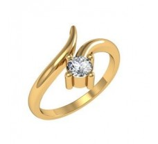 Diamond Designer Ring 0.12 CT / 3.25 gm Gold