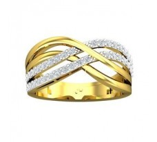 Natural Diamond Ring 0.43 CT / 3.47 gm Gold