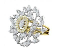 Natural Diamond Ring 1.99 CT / 10.29 gm Gold