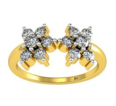 Natural Diamond Ring 0.52 CT / 2.70 gm Gold