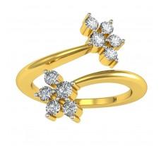 Natural Diamond Ring 0.44 CT / 5.26 gm Gold