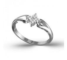Diamond Ring 0.16 CT / 1.67 gms GOLD