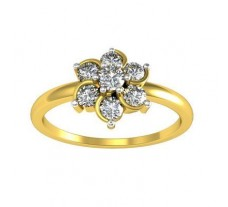 Natural Diamond Ring 0.45 CT / 3.55 gm Gold
