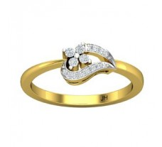 Natural Diamond Ring 0.13 CT / 2.97 gm Gold