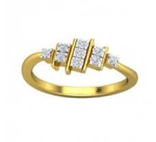 Natural Diamond Ring 0.18 CT / 2.26 gm Gold
