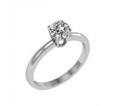 Solitaire Ring 0.25 CT / 2.75 gm Gold.