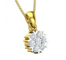 Natural Diamond Pendant 0.46 CT / 1.65 gm Gold