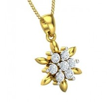 Natural Diamond Pendant 0.35 CT / 1.40 gm Gold