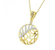 Natural Diamond Pendant 0.58 CT / 4.00 gm Gold