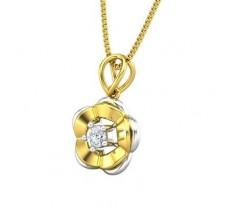 Natural Diamond Pendant 0.09 CT / 1.26 gm Gold