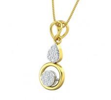 Natural Diamond Pendant 0.17 CT / 1.32 gm Gold