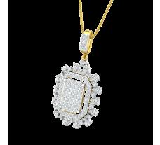 Natural Diamond Pendant 1.47 CT / 4.50 gm Gold