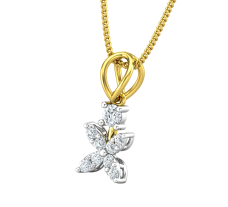 Natural Diamond Pendant 0.22 CT / 0.80 gm Gold