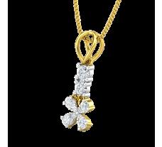 Natural Diamond Pendant 0.24 CT / 0.88 gm Gold