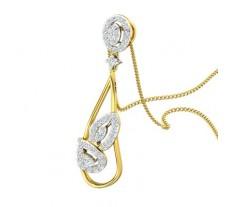 Natural Diamond Pendant 0.53 CT / 3.21 gm Gold