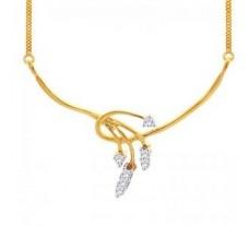 Natural Diamond Tanmaniya 0.21 CT / 2.50 gm Gold