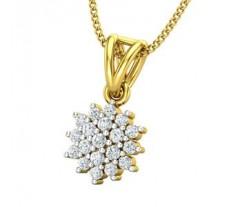 Natural Diamond Pendant 0.218 CT / 2.00 gm Gold