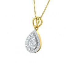 Natural Diamond Pendant 0.58 CT / 1.70 gm Gold