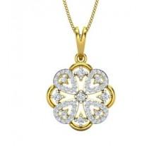 Natural Diamond Pendant 0.63 CT / 3.17 gm Gold