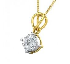 Natural Diamond Pendant 0.19 CT / 1.03 gm Gold