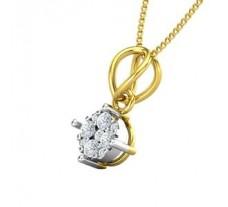Natural Diamond Pendant 0.15 CT / 0.90 gm Gold