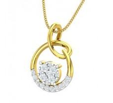Natural Diamond Pendant 0.45 CT / 2.24 gm Gold