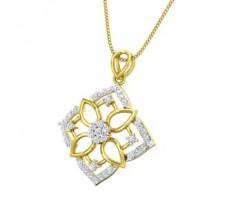 Natural Diamond Pendant 0.46 CT / 2.70 gm Gold