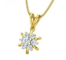 Natural Diamond Pendant 0.24 CT / 0.94 gm Gold