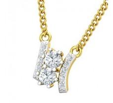 Natural Diamond Pendant 0.38 CT / 0.80 gm Gold