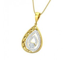 Diamond Pendant 0.51 CT / 2.66 gm Gold