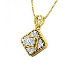 Natural Diamond Pendant 0.38 CT / 2.40 gm Gold