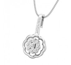 Diamond Pendant 0.25 CT / 1.89 gm Gold