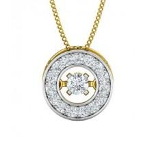 Natural Diamond Pendant 0.45 CT / 1.90 gm Gold
